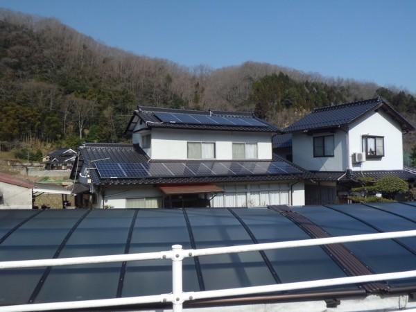 施工事例 太陽光発電 施工後