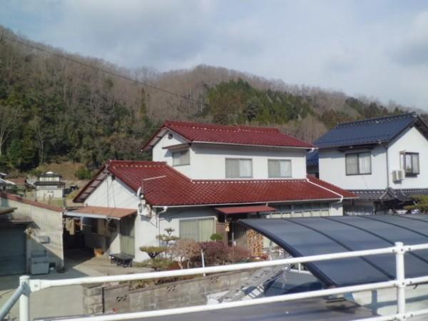 施工事例 太陽光発電 施工前