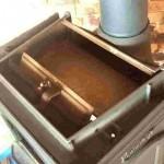 施工事例 薪ストーブメンテンス 暖炉掃除2 右